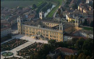 Veduta aerea del Palazzo Ducale di Colorno (Foto: Meridiana Immagini)