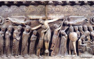 Parma, Duomo, La Deposizione di Antelami