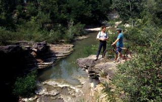 Paro fluviale dello Stirone - Il canyon in località San Nicomede (Foto: Meridiana Immagini)