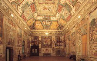 Rocca in San Secondo, Sala Gesta Rossiane (Foto: Bertuzzi)