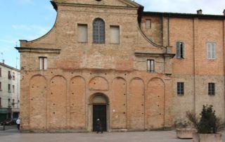 Parma, Chiesa di Santa Croce, esterno