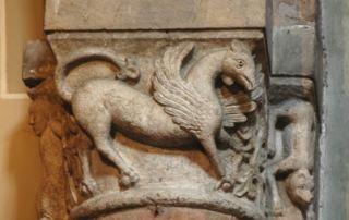 Parma, Chiesa di Santa Croce, capitello