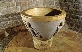 Vicofertile, Chiesa Di San Geminiano, Fonte Battesimale