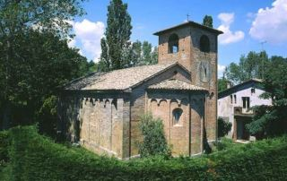 Talignano, Pieve di San Biagio, abside