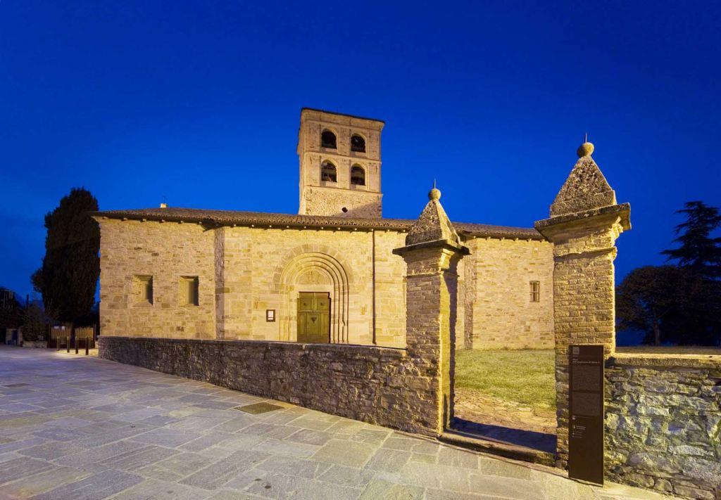 Bardone, la Pieve di Santa Maria (Foto: Davoli)