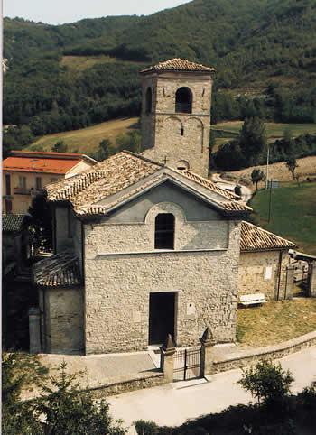 Terenzo, la Chiesa di Santo Stefano