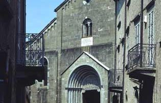Berceto - Via Roma e il Duomo