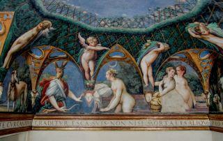 Rocca di Fontanellato, Parmigianino