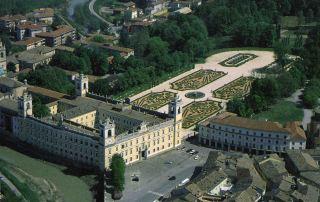 Veduta aerea del Palazzo Ducale di Colorno