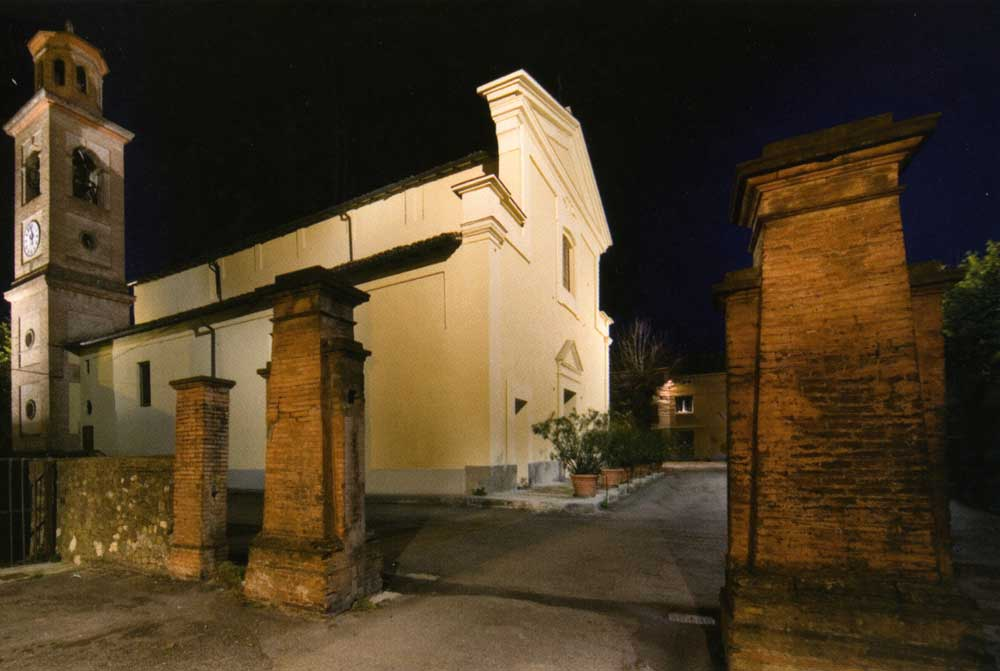 San Pancrazio, Pieve Romanica
