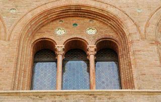 Parma, Vescovado, dettaglio esterno