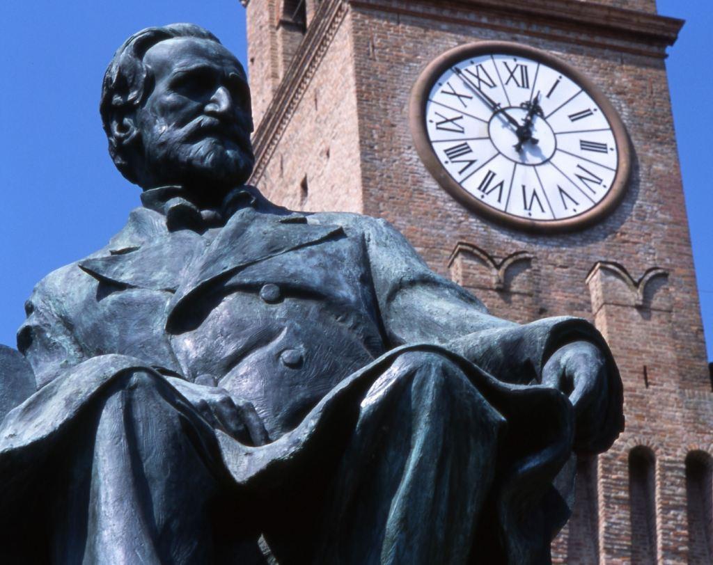 Busseto, Monumento Verdi (Foto: Dall'Argine)