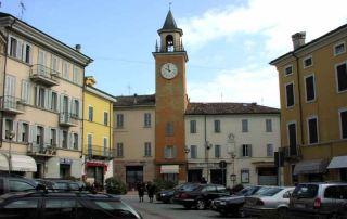 Langhirano, piazza Ferrari