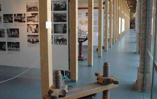 Langhirano, interno del Museo del Prosciutto (Foto: F. Dell'Aquila)