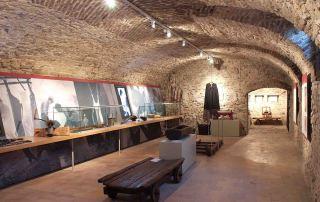 Museo Del Salame Felino, la Sala della Norcineria (Foto: L. Galloni)