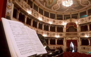 Busseto, Teatro Verdi (Foto: Dall'Argine)