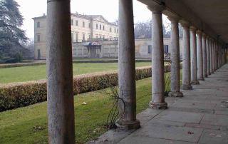 Il Casino dei Boschi di Carrega visto dal colonnato