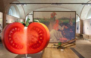Museo del Pomodoro, interno