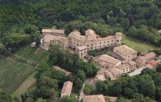 Scipione Castello, veduta aerea