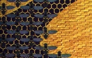 Amedeo Bocchi, Il favo e le api, 1917 (Parma, Sede centrale Cariparma-Crédit Agricole)
