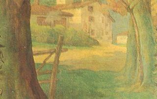 Daniele de Strobel, Il Casello, 1925 (Parma, Sede centrale Cariparma-Crédit Agricole)