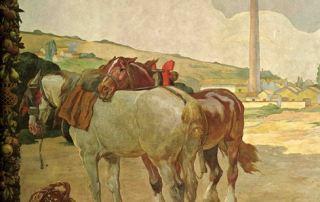 Daniele de Strobel, Fabbrica conserva, 1925 (Parma, Sede centrale Cariparma-Crédit Agricole)