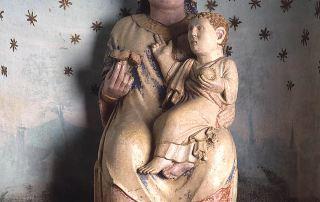 Badia di Fontevivo, Madonna con Bambino (Foto: Davoli)