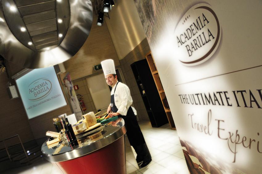 Corsi di cucina in Academia Barilla, Chef Nicola Bindini