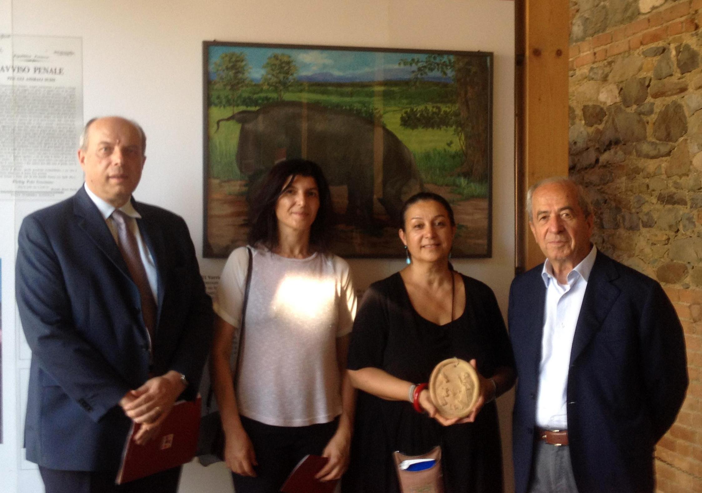 2016.09.03 – Museo del Prosciutto di Parma – Donazione Associazione Melusine