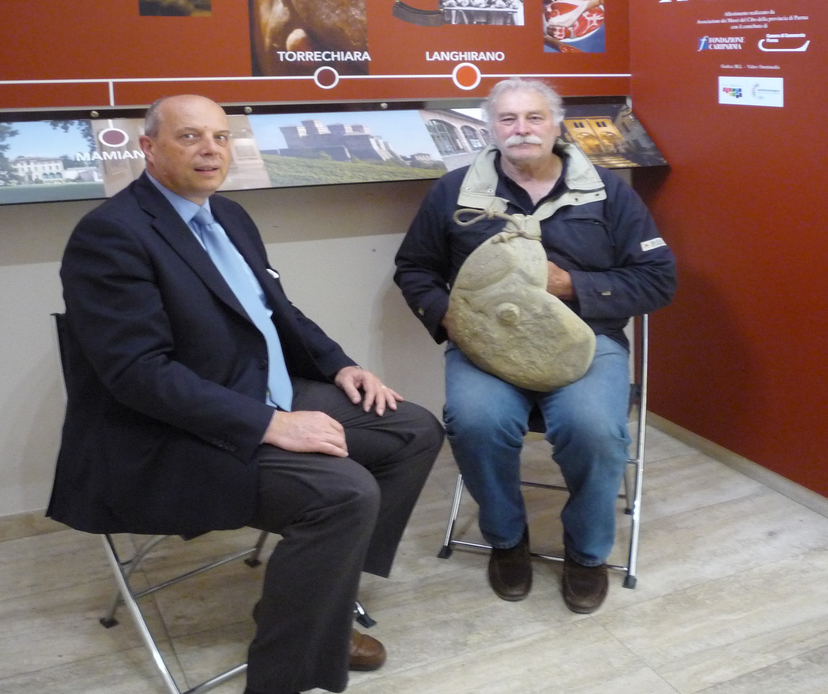 2017.03.27 – Museo del Prosciutto di Parma – Donazione Marcello Rigucci
