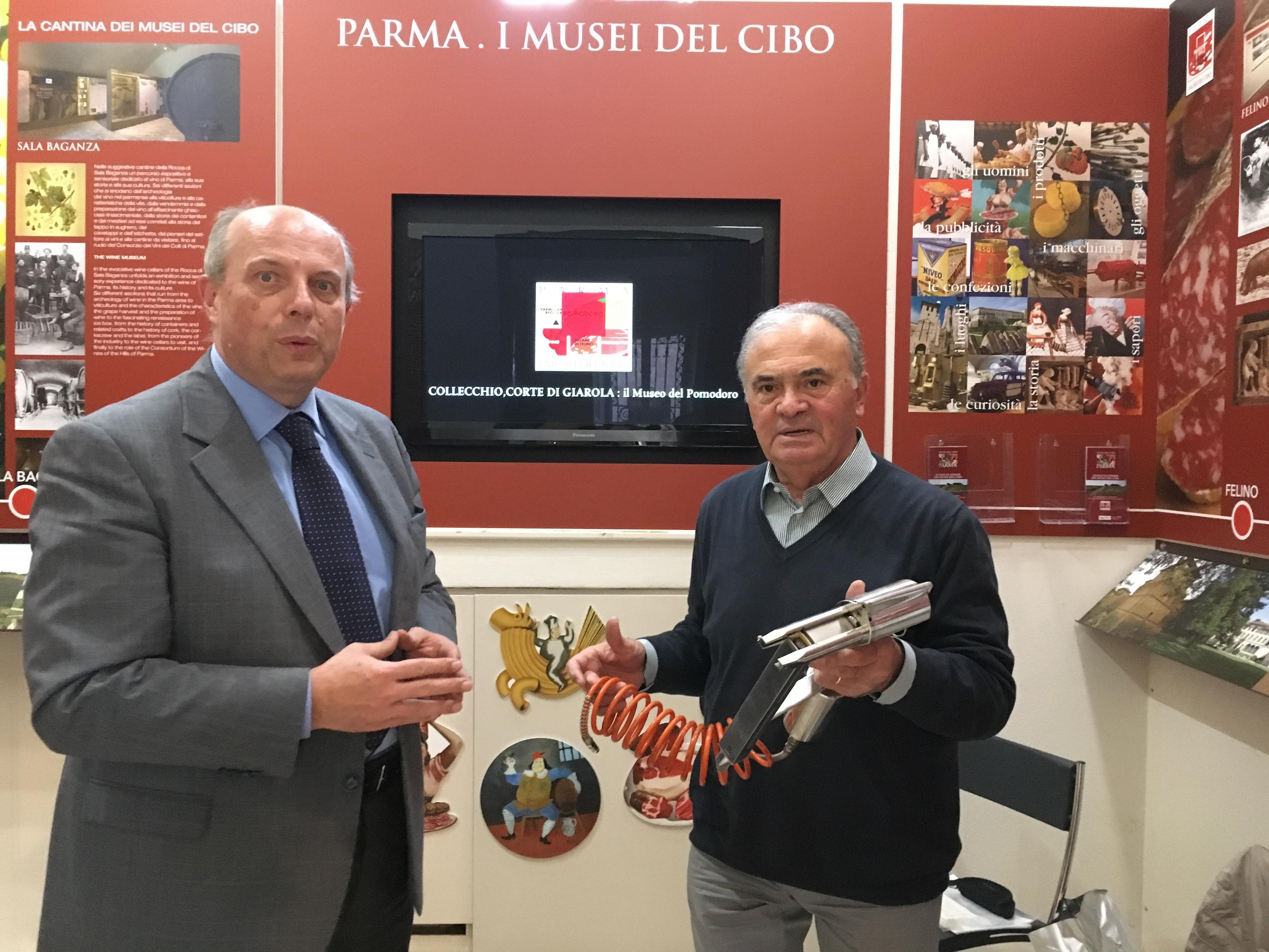 2017.09.25 – Museo del Prosciutto di Parma – Donazione Giancarlo Chiesi